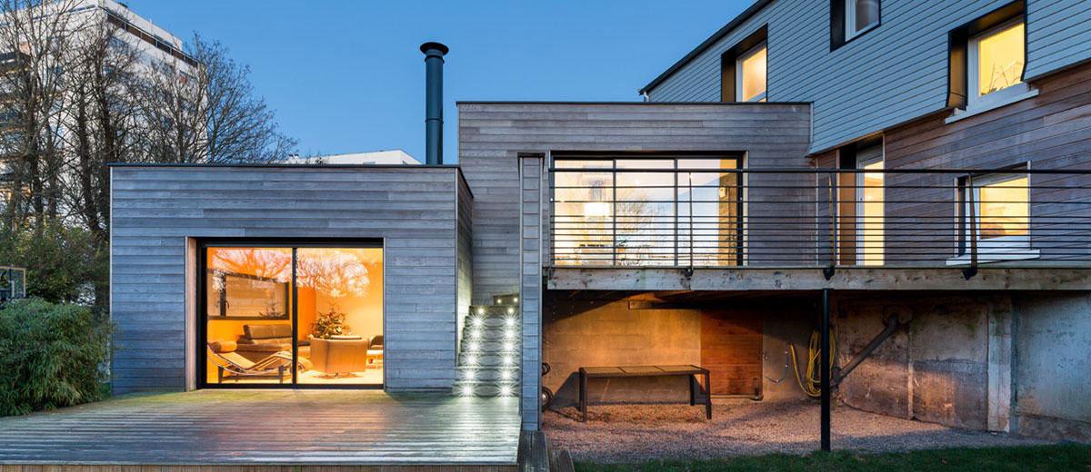 Extension dune maison individuelle à combas archidvisor