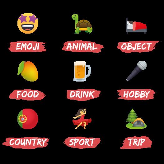 Emojis d'Alice