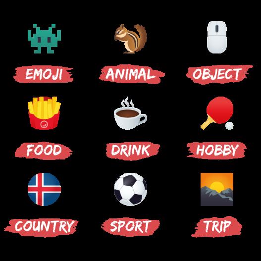 Emojis d'Aurélien