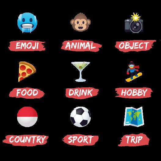 Emojis d'Aymeric