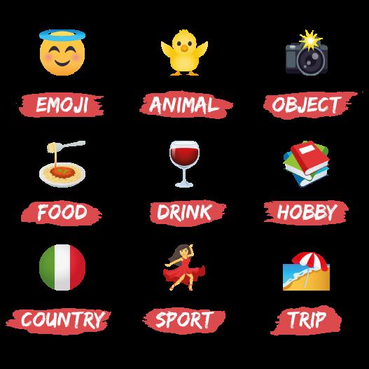 Emojis de Déborah