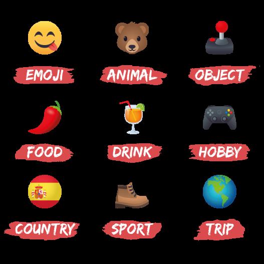 Emojis de Jérôme