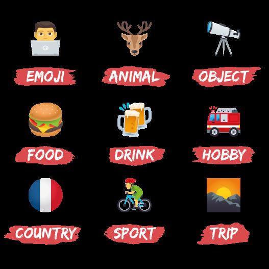 Emojis de Melvine