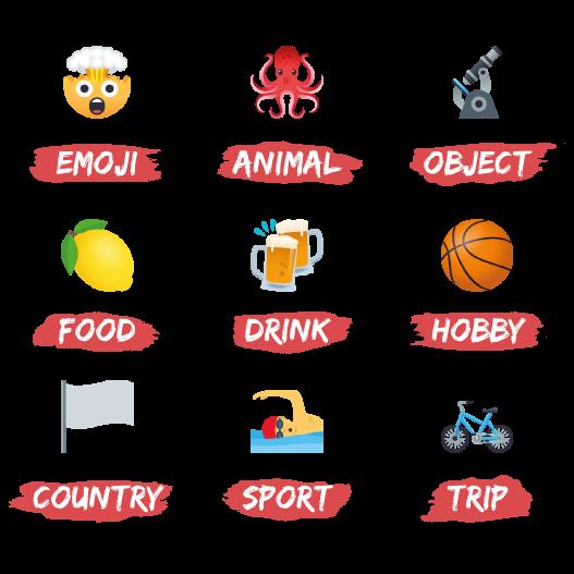 Emojis de Rémi
