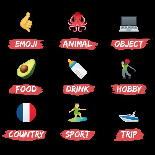 Emojis de Xavier
