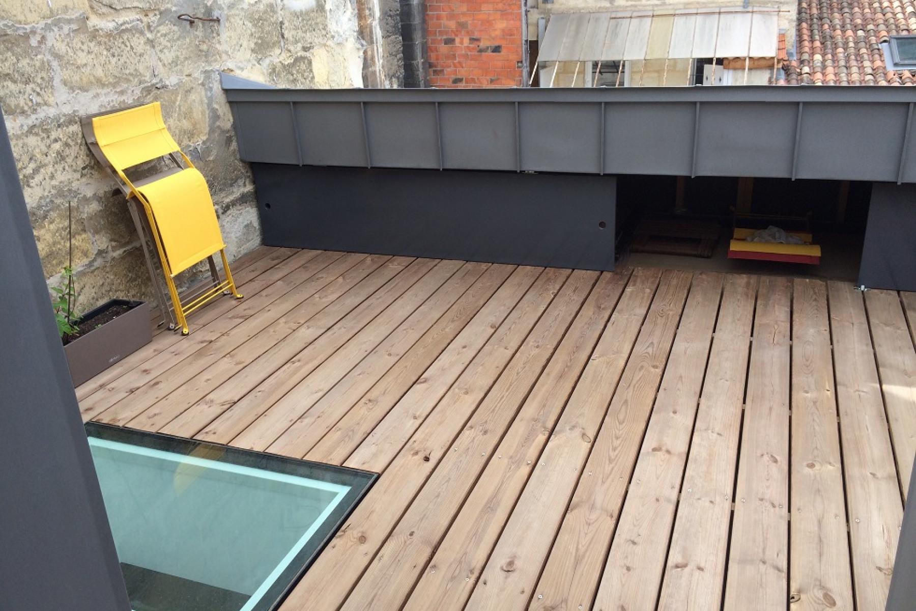 Creer Une Terrasse Tropezienne création d'une terrasse tropézienne à bordeaux - archidvisor