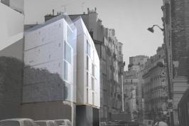 DR15 - construction Immeuble de 15 logements - Paris 15