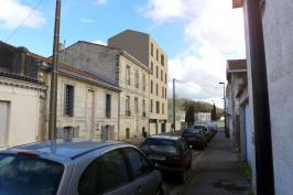 Immeuble à Bordeaux, construction de 4 logements collectifs.