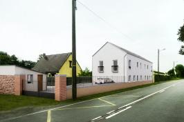 Rénovation de 2 maisons individuelles jumelées