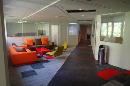 Rénovation d'un plateau de bureaux