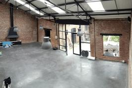Réhabilitation hangar en salle de réception