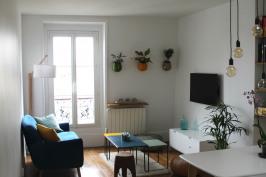 Rénovation d'un appartement F2 dans le Marais