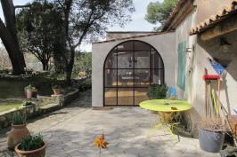 Extension d'une maison provençale