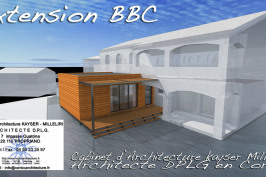 Extension BBC rt 2012 bio climatique