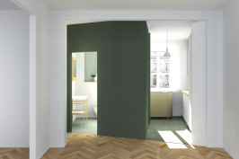 Rénovation d'un appartement parisien