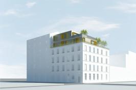 Surélévation d'un immeuble de logements