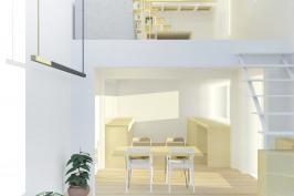 Aménagement de combles et restructuration d'une maison