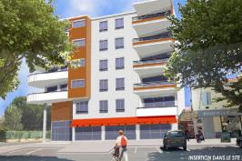 Immeuble de 22 logements Les terrasses du port