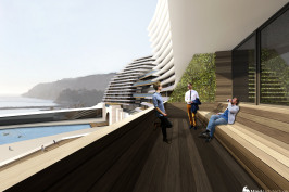 ESSTAC : marina et logements collectifs
