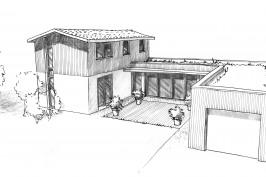 Autour d'une terrasse