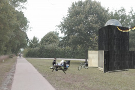 Concours d'idée pour une loge de vigne en bord de Loire