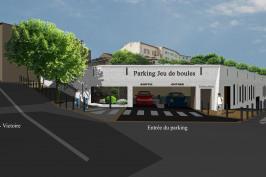 """Parking  """"Jeu de Boules"""""""