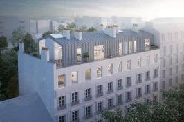 Surélévation immeuble parisien