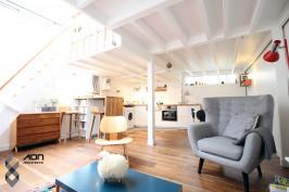 Loft avec mezzanine Paris 20ème