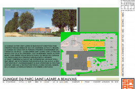 EXTENSION ET RESTRUCTURATION DE LA CLINIQUE DU PARC ST. LAZARE