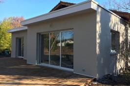 Extension d'une habitation existante / piscine