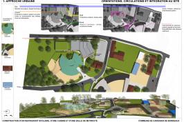 Construction d'un restaurant scolaire et salle de motricité