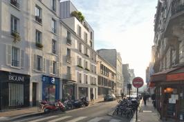 10 Logements + Espace Commercial - Paris 14