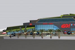 Supermarché Viande à Gogo - Bâtiments industriels