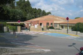 Travaux d'isolation par l'extérieur d'une école