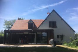Extension d'une maison traditionnelle de 1985