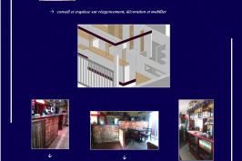 Réaménagement et décoration d'un bar