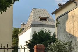 Extension et surélévation d'une maison