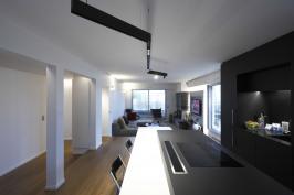 Penthouse en Noir et Blanc