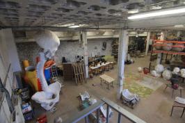Rénovation d'un atelier de sculptures monumentales