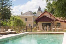 Extension serre, piscine et  aménagements extérieurs