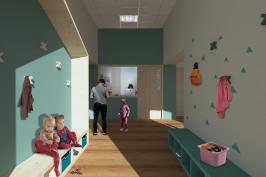 Réaménagement d'une école en micro-crèche