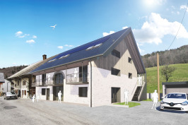 Réhabilitation d'une grange en 6 logements