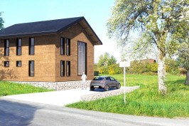 Construction d'une maison ossature bois