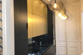 Rénovation d'un appartement  rue  de Lincoln - Paris VIII