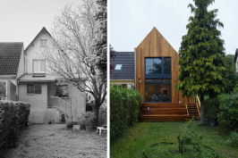 Extension maison à Antony