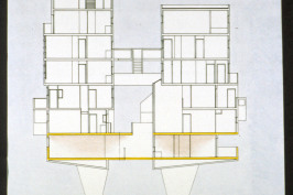 7 niveaux deux rues intérieurs