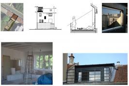 Réhabilitation  appartement avec création d'une terrasse