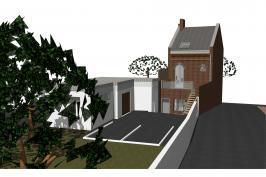 Restructuration de 2 maisons de ville en logements locatifs sociaux