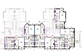 Restructuration d'un plateau de bureaux en 6 logements