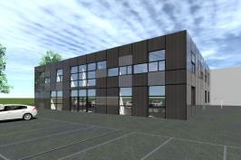 Construction d'un bâtiment d'activités